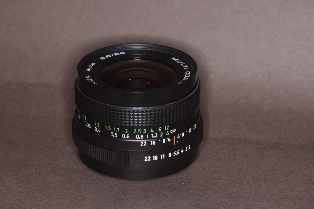 Pentcan 2,8/29mm
