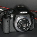Industar an Canon EOD 600D