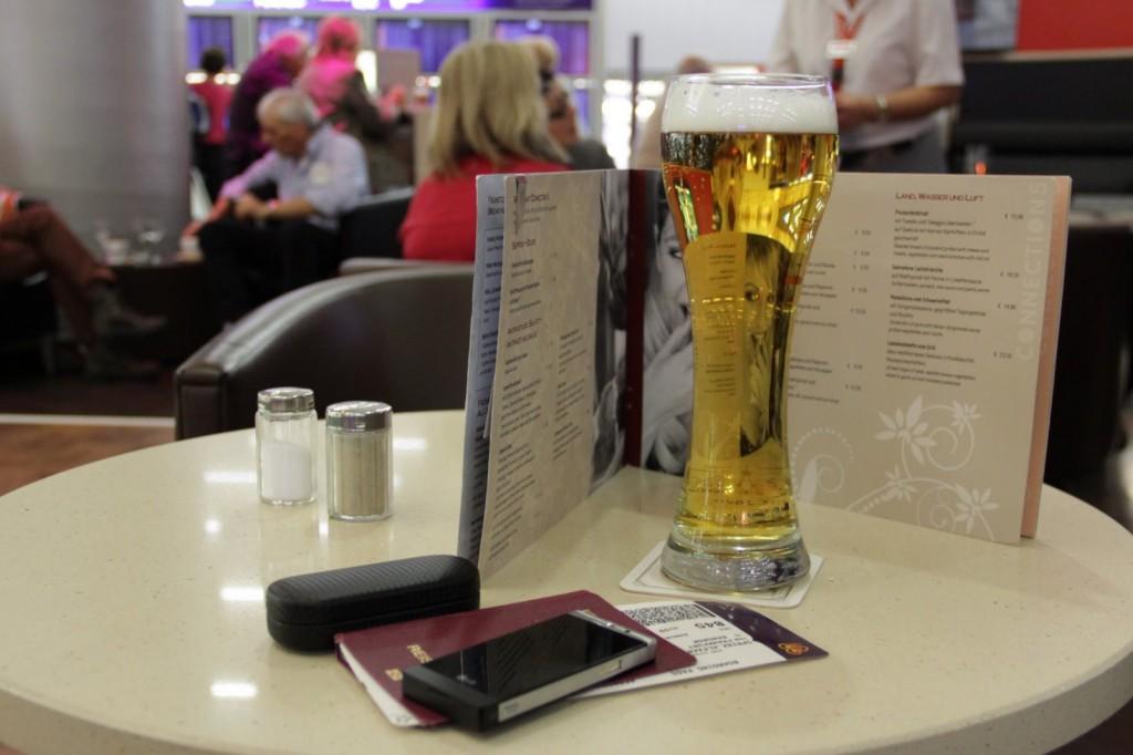 Good bye Deutschland Bier in Frankfurt
