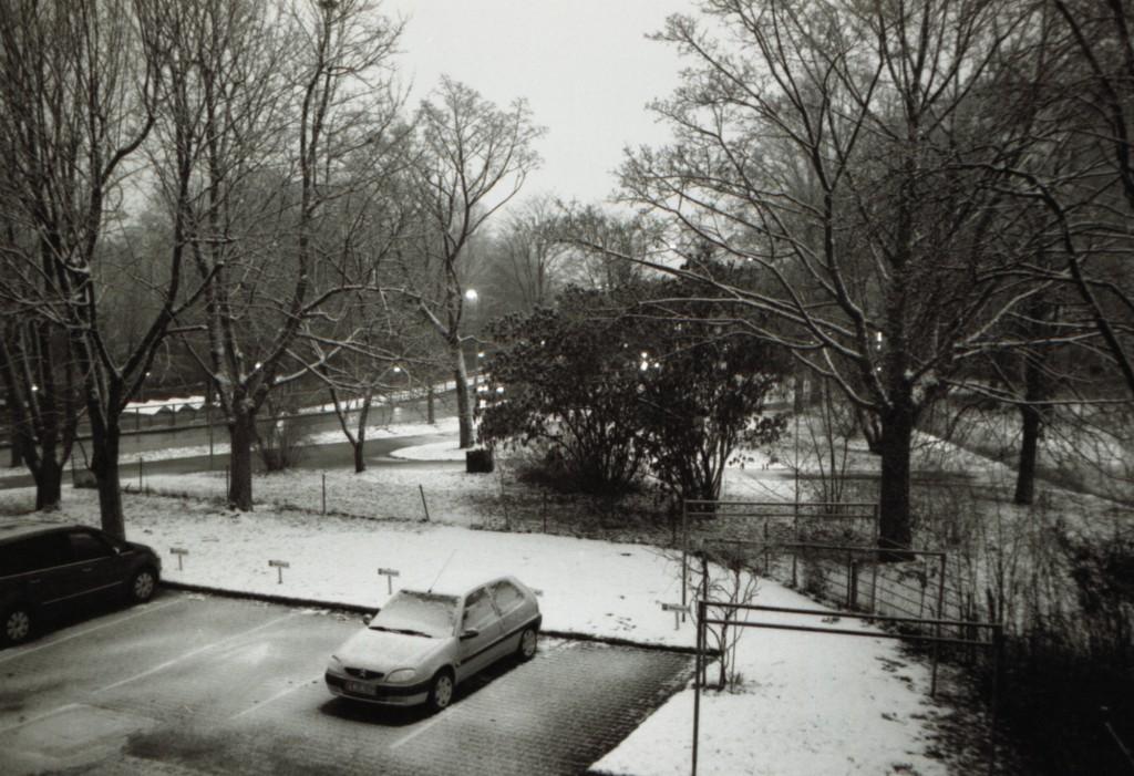 Sillenbuch, Abend und Schnee
