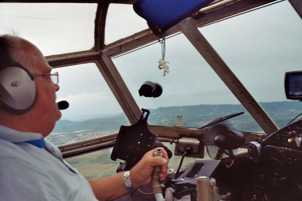 Pilot und  Chef: Paul Hoffmann