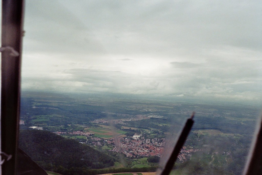 Ausblick aus der AN-2