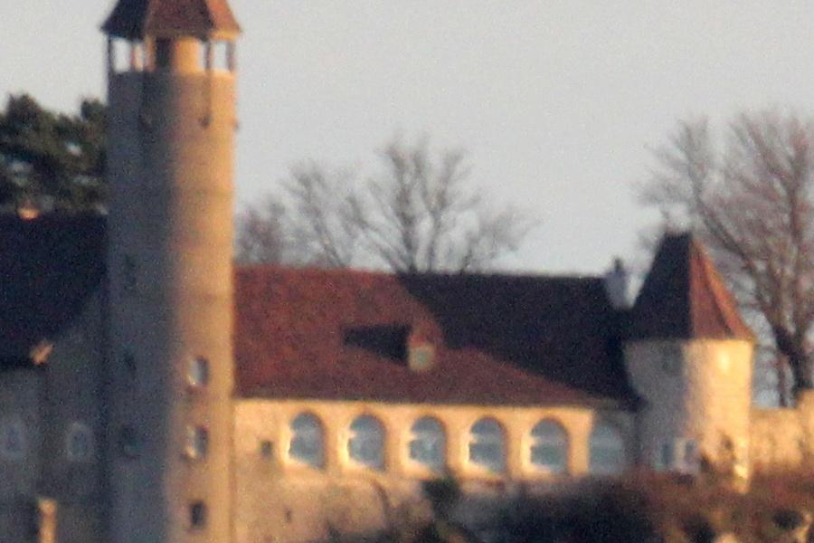 Burg Teck - 100% Ausschnitt