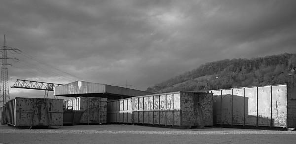 Container, Neckarhafen Plochingen