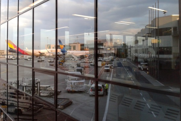 Frankfurt Airport Reflections