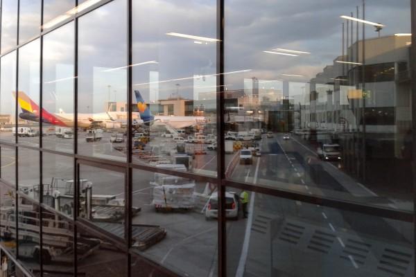 Frankfurt Airport Reflections